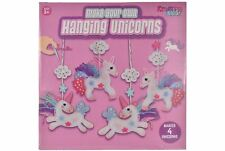 Make Your Own Unicorn Hanging Decoration Kids Girls Art Craft DIY Activity Toys