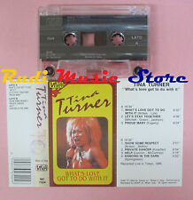 MC TINA TURNER What's love got to do with it 1993 italy VIVA 7504 cd lp dvd vhs