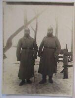 Deutsche Soldaten mit Artillerie Pickelhaube, Foto (60029)