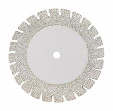 Microdont USA MU- 40604003 Flat Diamond Disc, Sawed, Very Thin, Stainless Steel