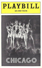"Chita Rivera ""CHICAGO"" Gwen Verdon / Kander & Ebb 1975 Rare Preview Playbill"