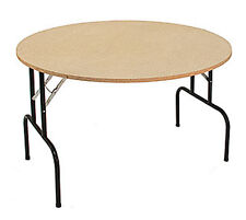Round Folding Furniture Banquet Dump Table Retail Display Store 48