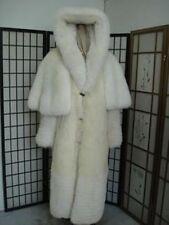 BRAND NEW FOX FUR COAT HOODED FOR MEN OR WOMEN