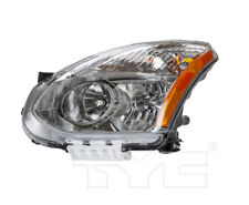 TYC Left Driver Side Halogen Headlight for Nissan Rogue 2013 Models