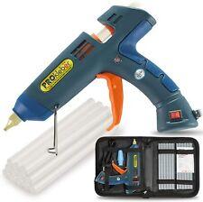 PROkleber Hot Melt Glue Gun Kit Full Size 100 Watt With Carry Bag And 12 Pcs