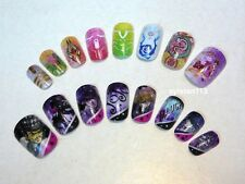 Bandai JoJo's Bizarre Adventure Tiger & Bunny Charanail Nail Chips Set of 16