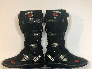 Sidi Crossfire Mototcycle Boots Size US 11 UK 10.5 EUR 45