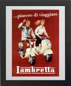 Lambretta Scooter picture poster 3 sizes TP265