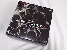 SALE SONY Playstation 4 PS4 METAL GEAR SOLID V GROUND ZEROES PREMIUM PACKAGE