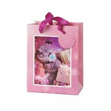 Me to You Medium 3D Holographic Gift Bag With Presents - Tatty Teddy Bear