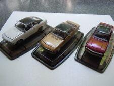 3 RARE OPEL MANTA A Models by Pilen or Artec in 1:43 with Original Box B