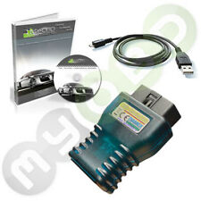 AGV4000 OBD-II Diagnose Für BMW MB VW SEAT AUDI SKODA FORD Opel inkl. Software