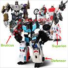 Transformers Defensor Bruticus Superion Combiner Wars Figure Toy 5in1 KO version