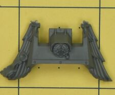 Warhammer 40K Ángeles de marines espaciales oscuro Ravenwing Bicicleta Frontal (C)