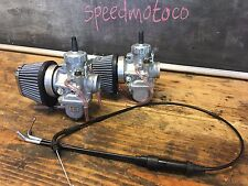 Honda CB350 CL350 sl350 Mikuni VM30  Carburetor Kit w/ Cable cafe racer Carb Kit