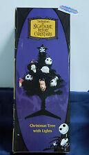 "Tim Burton's The Nightmare Before Christmas 22"" Tree w/Lights NBX MIB Unopened"