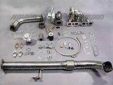 GT35 Top Mount Turbo FULL kit For NISSAN S13 180SX/200SX S15 S14 SR20DET