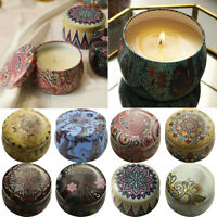 New Scented Candles Gift Set Natural Soy Wax  Aromatherapy Candles Kit