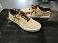 Beverly Hills Polo Club BP91309 Light/Dark Brown Men's Lace Up Sneakers Size 11