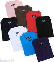 Mens Polo Shirts Heavy Cotton Big king size clothing 2XL 3XL 4XL 5XL 6XL 7XL 8XL