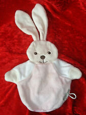 Rare Kaloo Bunny Rabbit Puppet Blanket Comforter baby toy Soother pink