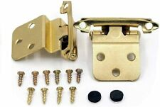 Kitchen Cabinet Hardware Hinges Inset Gold Hinges for Cabinets Self-Closing