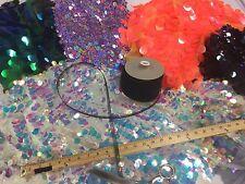 Horsehair Braid Crinoline Fabric Trim-wedding-bridal 10 Yards-1/2 Inches Black.