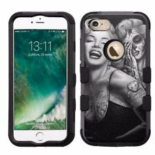 for Apple iPhone 8 Plus Armor Rugged Hard Hybrid Case Marilyn Monroe #S