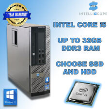 More details for fast cheap quad core i5 desktop sff 32gb ram hdd and ssd windows 10 pc computer