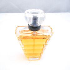 Lancome TRESOR Eau de Parfum Spray 1.7 oz 50 ml MISSING SOME, VINTAGE, imp