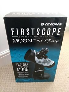 Celestron Firstscope Tabletop Telescope With Star Pointer (Moon By R Reeves)