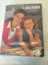 SEARS 1993 Annual SPRING / SUMMER STORE CATALOG -- SEALED Vintage book