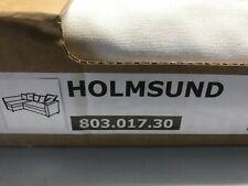 Ikea HOLMSUND Eckbettsofa Bezug Ransta weiss 803.017.30 NEU Wechselbezug
