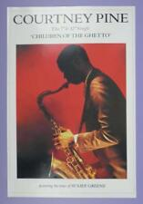 Courtney Pine - Children of The Ghetto, The Album, Island Records Poster