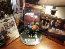 WWII DVD Movie Lot - A Bridge Too Far, The Great Escape, U-571, Pearl Harbor +1
