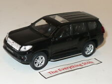 WELLY TOYOTA LAND CRUISER PRADO 4.5 INCHES LONG GLOSS BLACK FREE SHIP