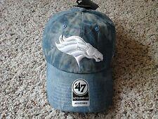 Denver Broncos 47BRAND Adjustable Clean Up Hat