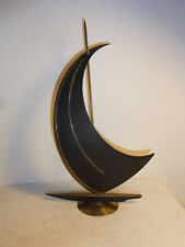 ART DECO Style Austrian Brass or Bronze Sailing Ship #BE