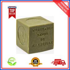 Véritable Savon De Marseille En Cube 72% d'Huile d'Olive Bio Authentique De 300g