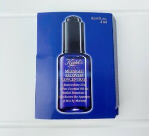 """BN """" KIEHLS """" MINI MIDNIGHT RECOVERY CONCENTRATE - 4ML !"""