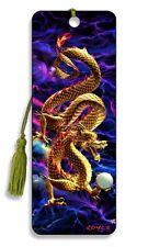 3D Bookmark - Golden Dragon