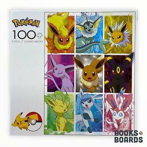 Pokémon Eevee's Elements 100 Piece Puzzle   Buffalo   2020   New