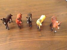 Collection of 5 Toy Horses