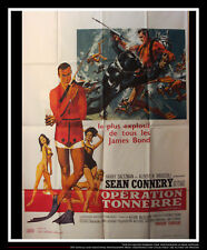 P892 007 Thunderball James Bond Movie Poster Glossy Finish Poster Art Decor