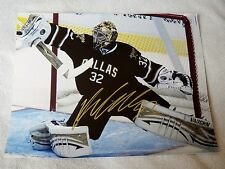 Dallas Stars Kari Lehtonen Signed 11x14 Photo Auto