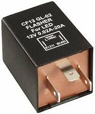 LED compatible flasher indicator relay works with mixed LED / Bulbs    -771-