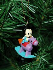 Mickey Mouse On A Rocking Horse Mini Christmas Ornament