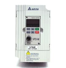 1pc VFD-M AC motor Driver AC200~240V 1φ IN, AC0~240V 1~400Hz 1HP 3φ Out, Delta
