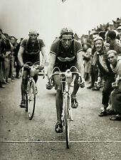 FAUSTO COPPI & GINO BARTALI 1949 TOUR DE FRANCE RETRO POSTER