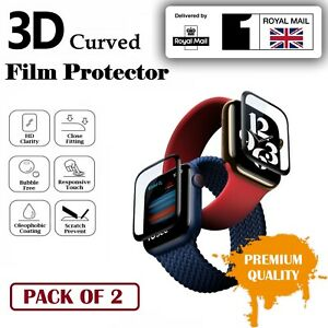For Apple Watch Series 1 2 3 4 5 6 SE Screen Protector Film Soft Cover iWatch